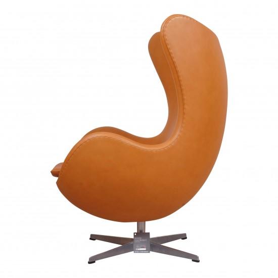 (Nyt) Arne Jacobsen ægget i cognac anilin