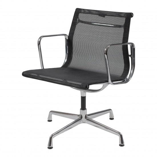 Eames Ea-108 stol i sort net