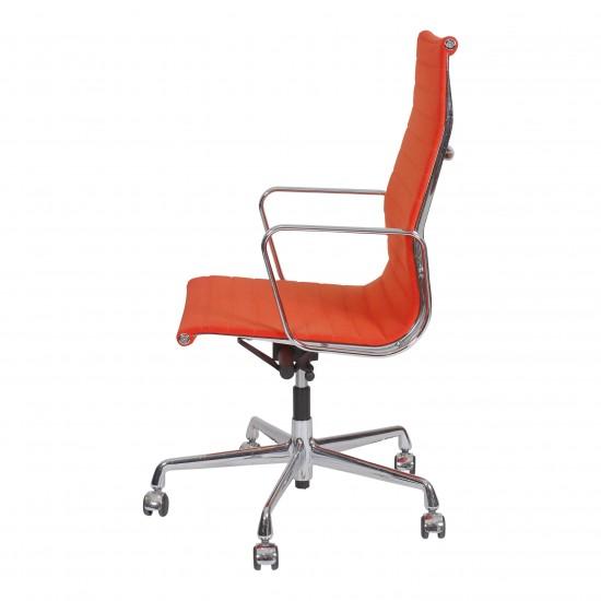 Eames Ea-119 kontorstol i orange stof