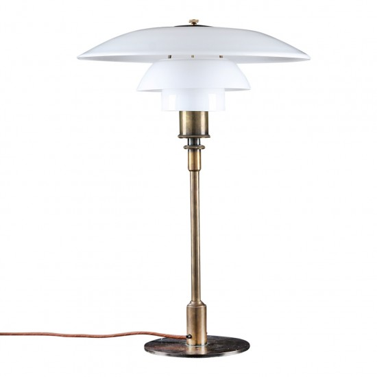 PH 4/3 Bordlampe, i bruneret messing fra 30'erne
