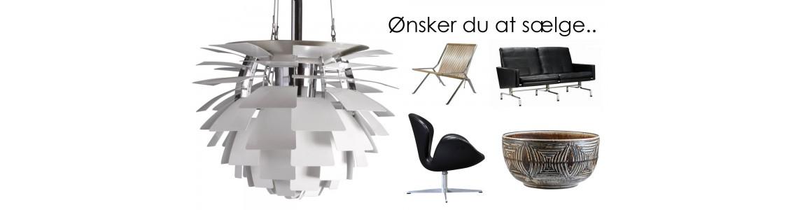 Sælg dine brugte designmøbler på markedets bedste vilkår!