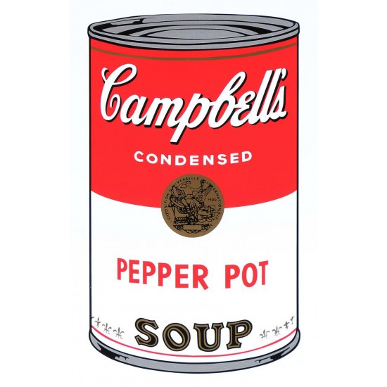 "Andy Warhol  ""Campbell's Soup I"""