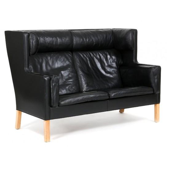 Børge Mogensen kupe sofa 2.pers, 2192, i sort original læder