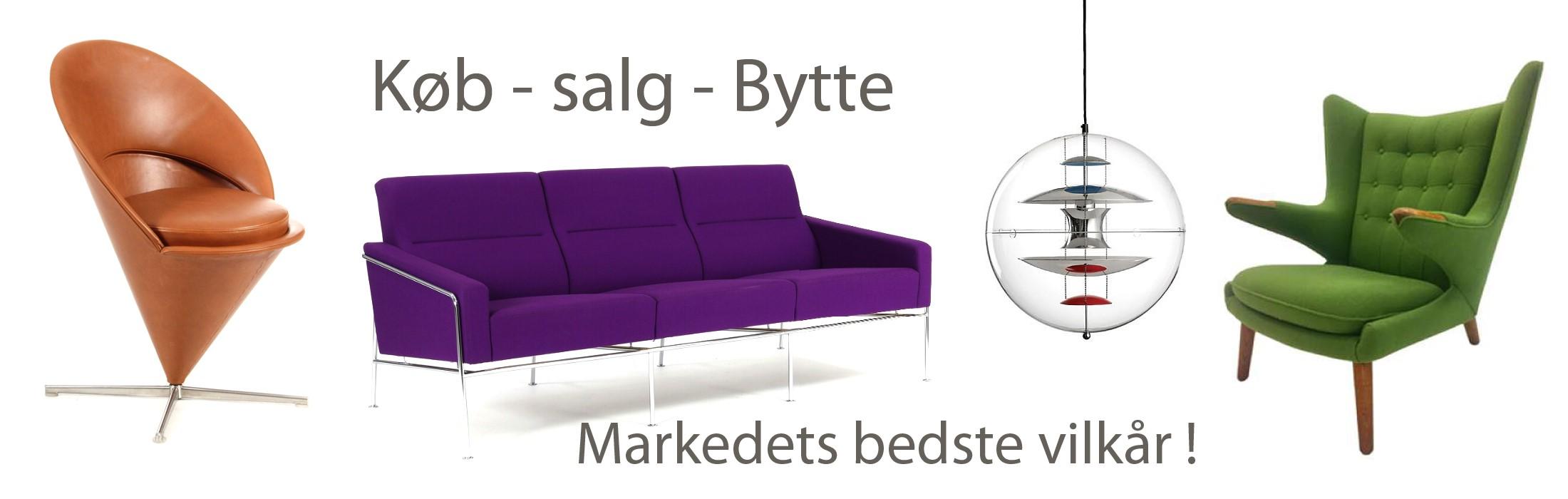 Vi køber dine designer møbler