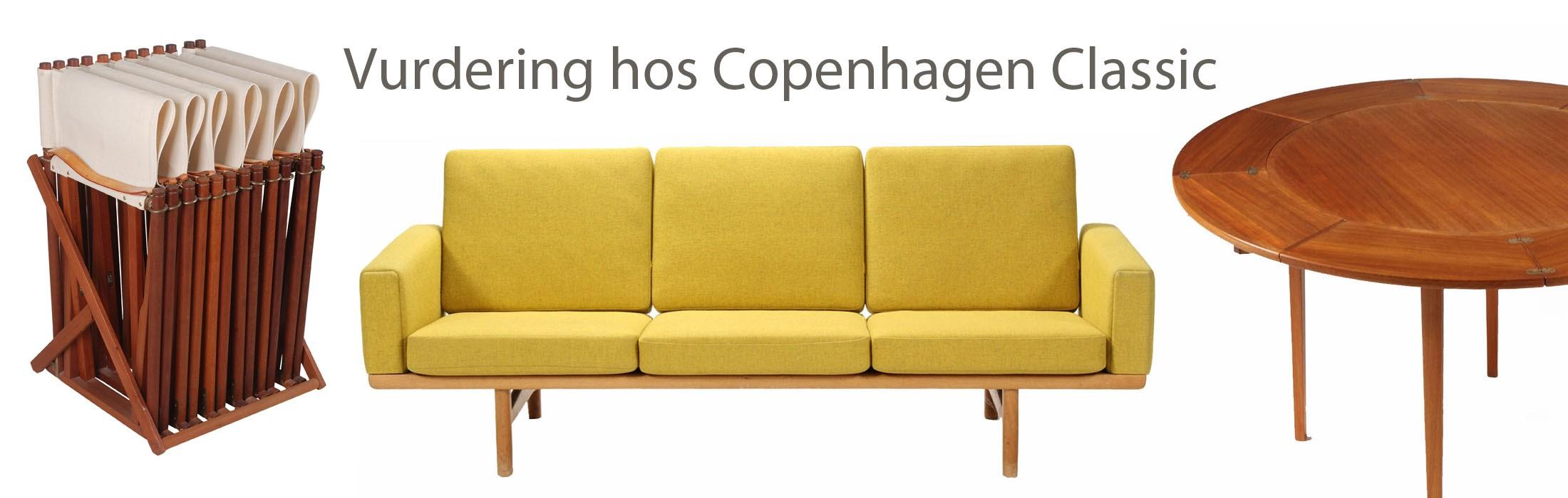 Få vurderet dine designer møbler hos CPH-Classic