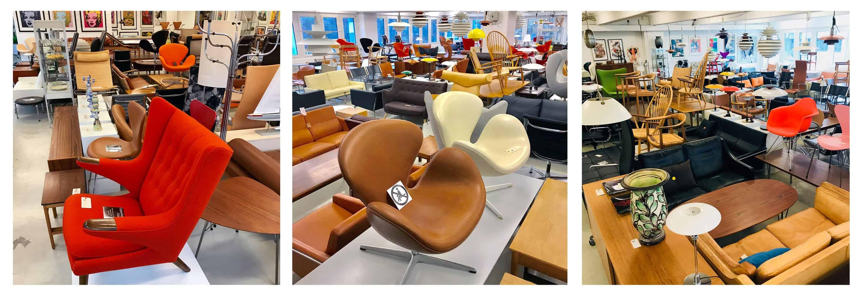 CPH-Classic - Velkommen til vores showroom med et stort udvalg af møbelklassikere