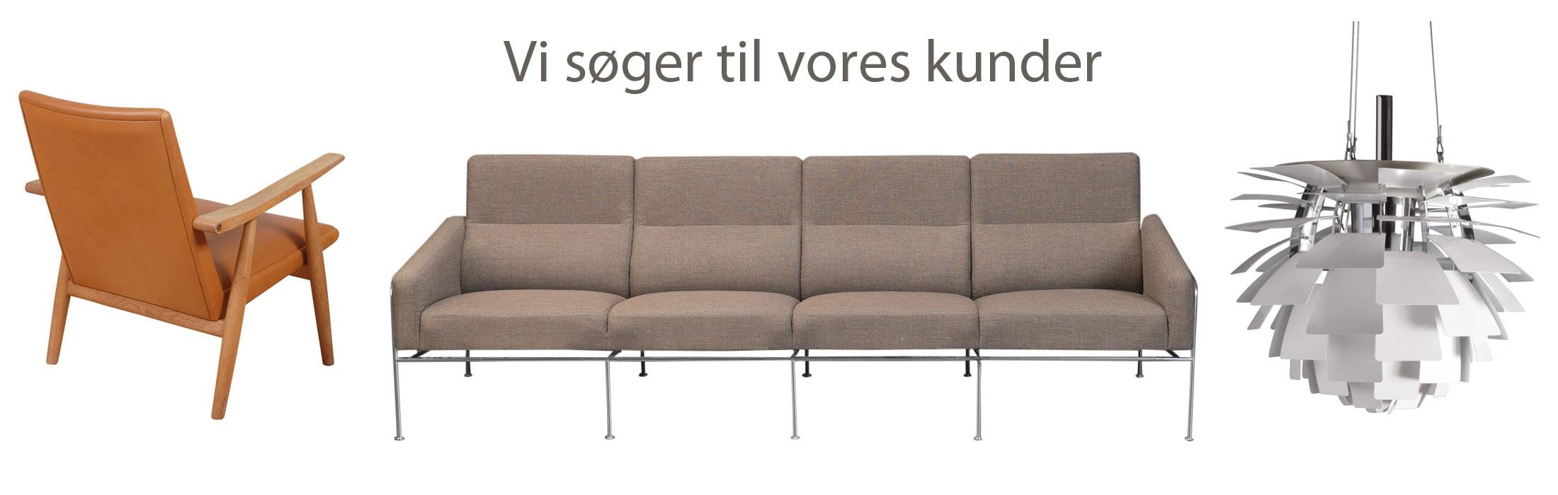 Vi søger designer møbler